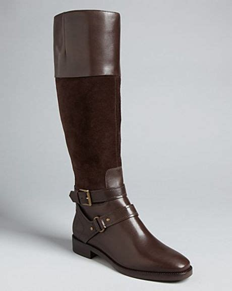 joan david ankle boots zadarah in brown lyst