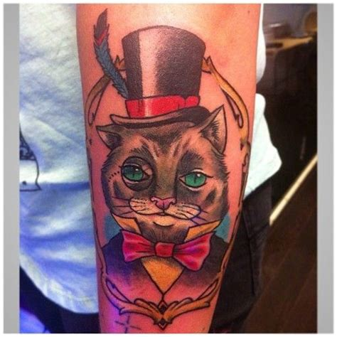 cat tattoo top hat 220 best images about gypsy tattoos on pinterest gypsy