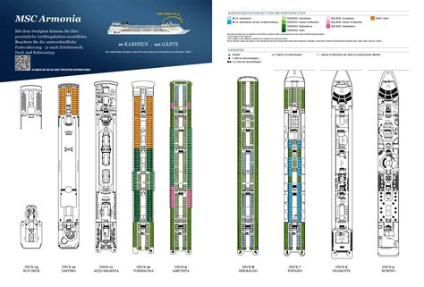msc armonia deck plan msc armonia deck plan pictures to pin on pinsdaddy