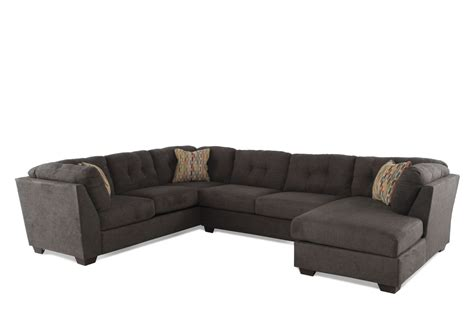 chocolate brown microfiber sectional three piece microfiber sectional in chocolate brown