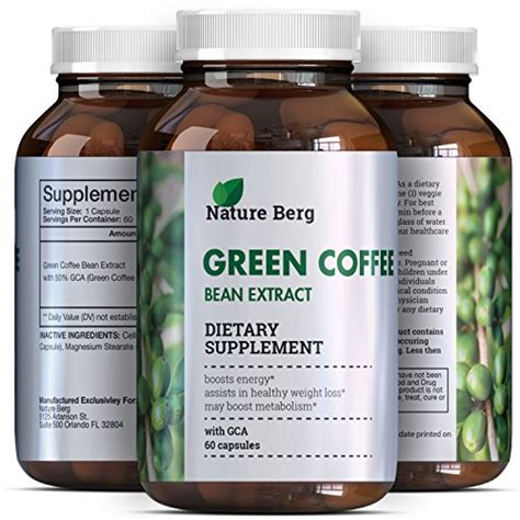 Green Coffee Bean Detox 800 by Green Coffee Bean Extract Strength