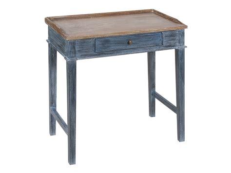 escritorios retro mesita escritorio decapado estilo vintage con cajoncito