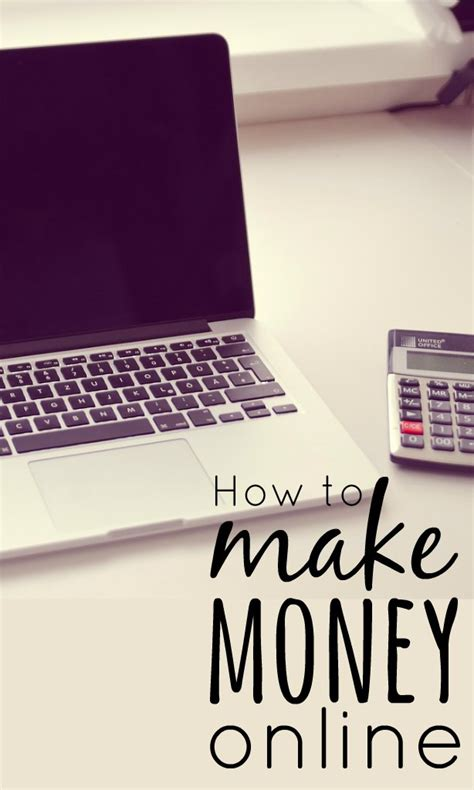 How To Make Make Money Online - how to make money online skint dad