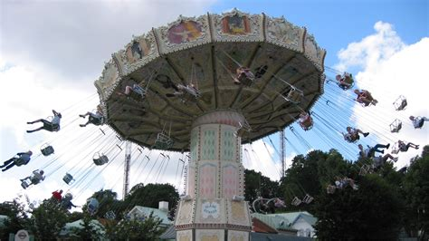 swing ride physics wave swinger wellen flieger amusement park physics
