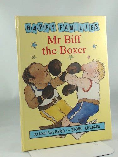 the boxer within books mr biff the boxer happy families ahlberg allan