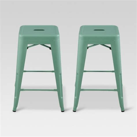 Target Counter Stools Metal by Carlisle 24 Quot Metal Counter Stool Threshold Target