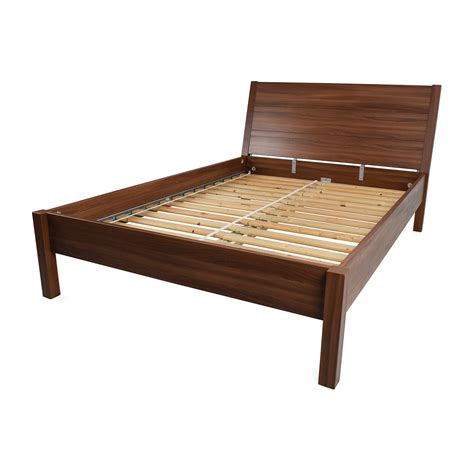 bed frames for full size beds 67 off ikea ikea full size brown bed frame beds