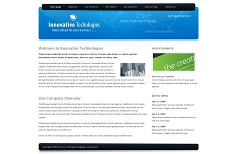 drupal themes zip download free innovative technologies drupal 6 corporate