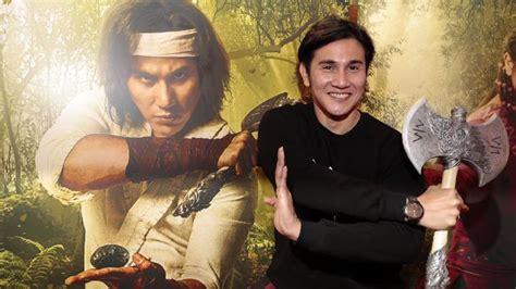 download film laga wiro sableng artis dalam peluncuran poster karakter film wiro sableng