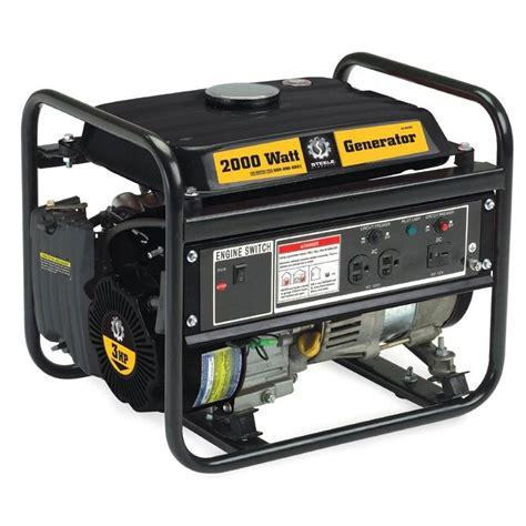 2000w portable generator non ca lawn garden