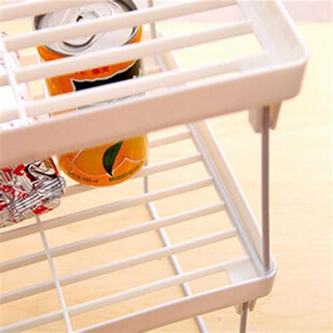 Plastic Shelf Organizer by Plastic Foldable Storage Racks Home Bathroom Closet
