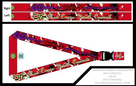 lanyard layout photoshop ust red cross youth council lanyard by carelle43 on deviantart