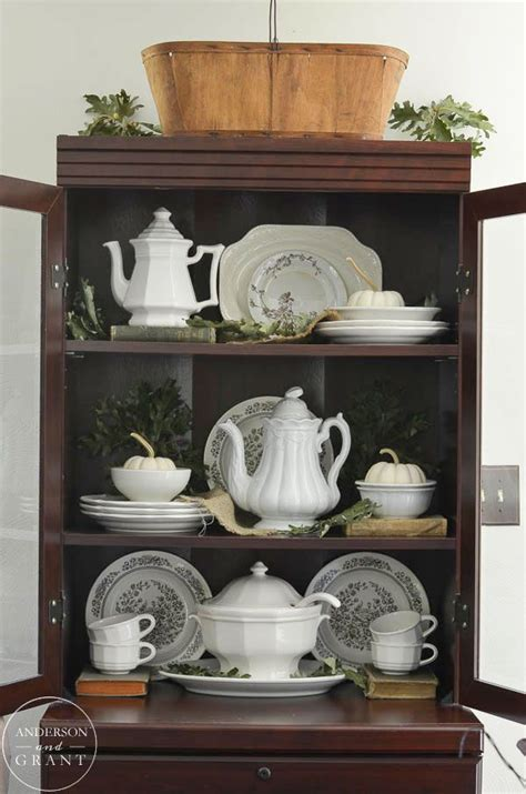 how to decorate a china cabinet with dishes 14 best images about dining room on a well