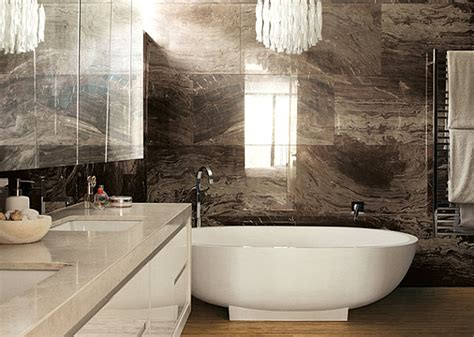 brown bathroom back to agate lapis and quartz mineral decor for a dazzling interior