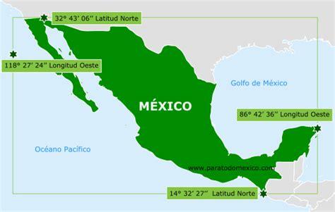 geografia de mexico image gallery la ubicacion de mexico