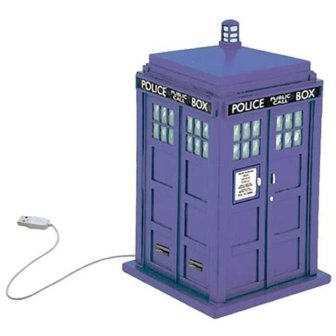 Usb Tardis Complete With Vworp by Doctor Who Tardis Usb Hub It Into The Usb Port On