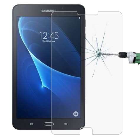 Tempered Glass Samsung Galaxy Tab A 7 2016 Tab A 7 Inchi 2016 Anti Go for samsung galaxy tab a 7 0 2016 t280 t285 0 26mm 9h surface hardness 2 5d explosion proof