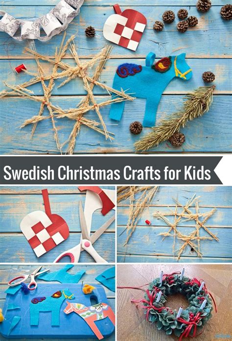 swedish christmas crafts for kids crafts kid and