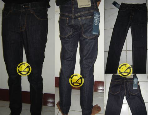 Celana Denim Standar Regular Abu Abu 27 32 Co 1 celana nudie superdry levi s logo dll diary