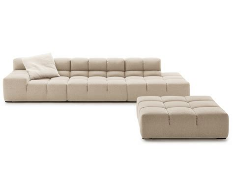 sectionals times sectional upholstered fabric sofa tufty time collection by