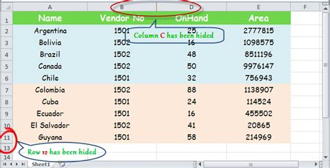 listview layout template exle hide excel row and column in c vb net