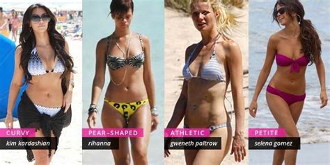 pear shaped celebrities best swimsuit for your body type swim bathing suits and