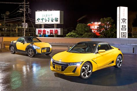 japan s micro sports cars honda and daihatsu kei cars