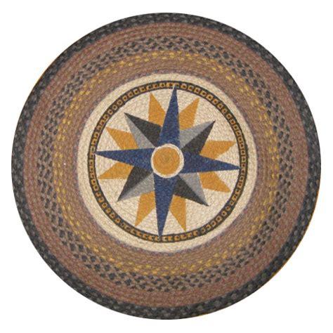 compass rug home decor tropical nautical furniture decor shop