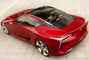 Lexus Lf Lc Production Lexus Lf Lc Will Be Almost Identical To Concept