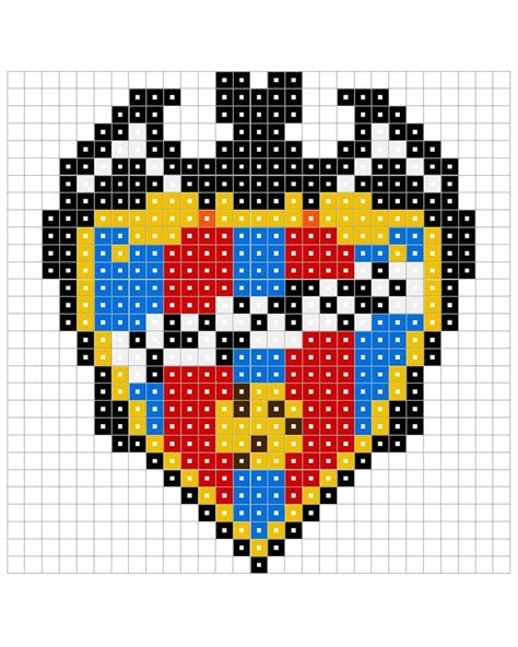 football perler 17 best images about escudos hama on perler