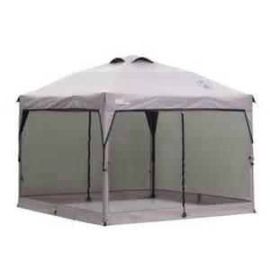 Instant Screen Canopy by The Coleman Instant Canopy Screen Wall Can Be Used In