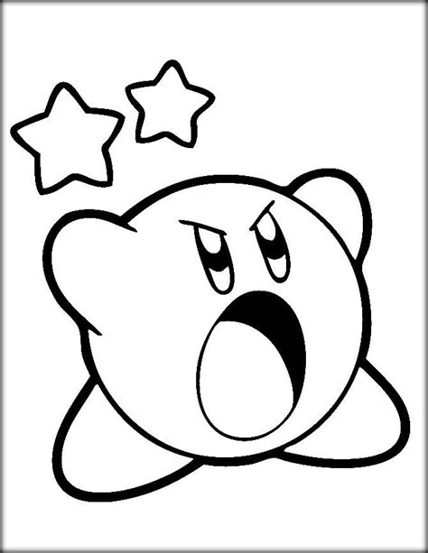 Kirby Coloring Pages by Kirby Coloring Pages Color Zini