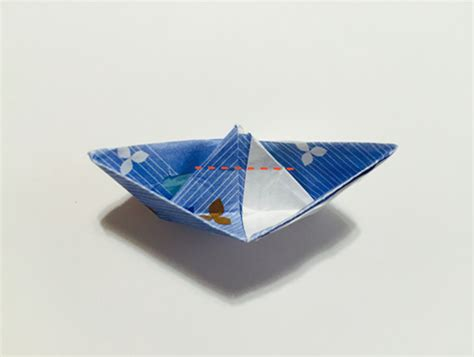 Origami Chopstick Holder - origami chopstick holder boat in 13 easy steps