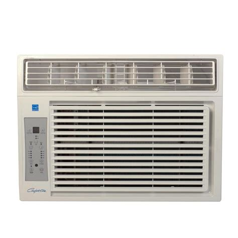 comfort aire air conditioner comfort aire 12 000 btu window air conditioner with remote