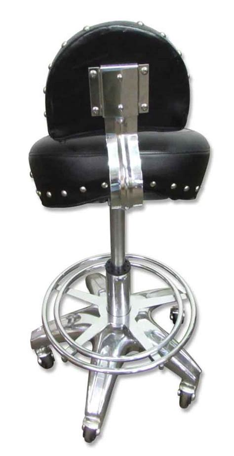 Motorcycle Seat Bar Stool by Rolling Harley Or Motorcycle Seat Stool Olde Things