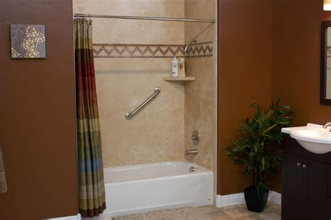 Shower Wall Panels For Bathrooms Decorative Interior Shower Tub Wall Panels Contemporary Bathroom Cleveland By Innovate