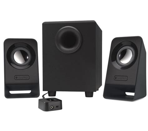 Logitech Speaker Z213 2 1 logitech z213 2 1 pc speakers deals pc world