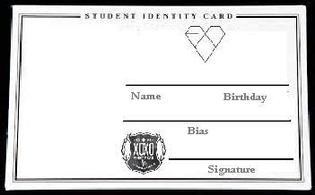 Exo Id Card Design | exo id card exo fansite