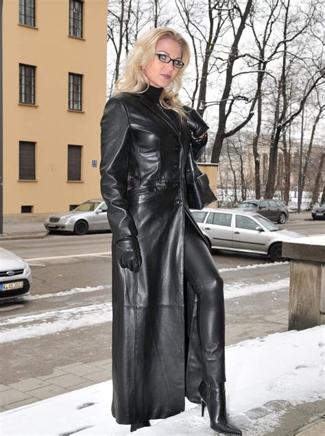Ic Dress Coat Annabelle 3in1 heike the in all black leather there must be flickr