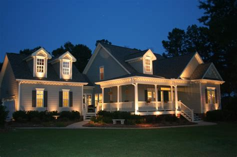 Exterior Home Lighting Design by Landscape Lighting House Pictures To Pin On Pinterest