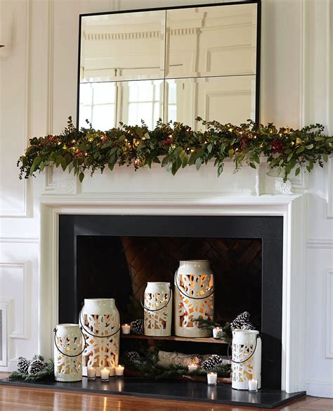 decorate fireplace decoration decorate fireplace using wall mirror ideas