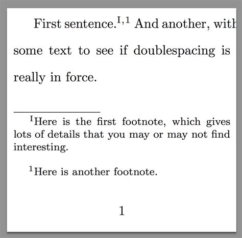 format footnote spacing line spacing single spaced footnotes with bigfoot tex
