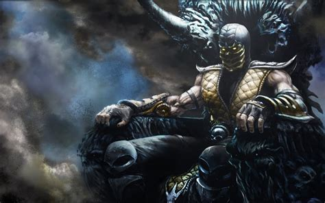 wallpaper hd xxl mortal kombat x scorpion wallpapers wallpapersafari