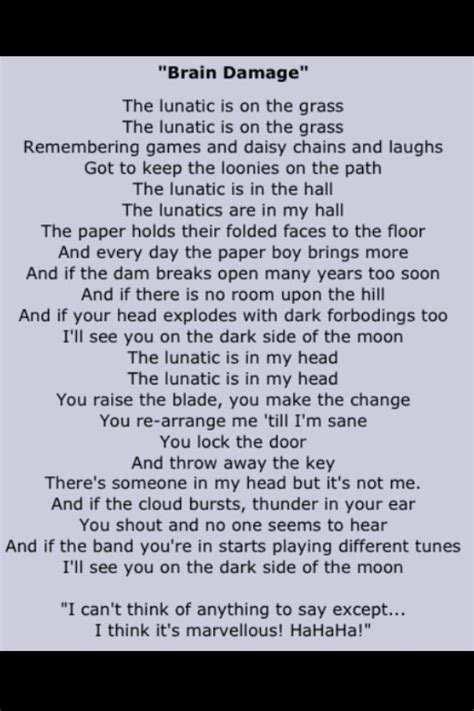 pink floyd comfortably numb lyrics meaning 17 best ideas about pink floyd lyrics on pinterest pink