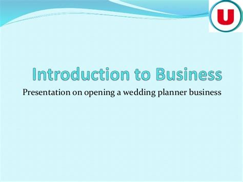 Wedding Planner Business by Opening A Wedding Planner Business