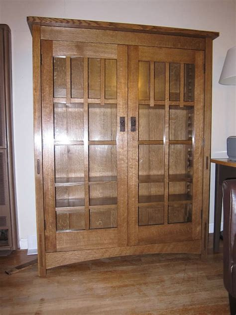 craftsman style bookcase by jackmoony lumberjocks