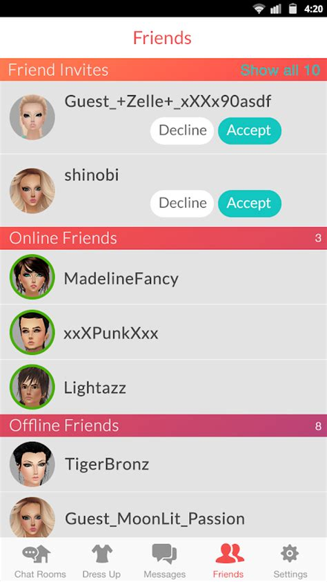 News Paper Free Mobile Friendship Softwares Chat Rooms Radio Imvu Mobile Android Apps On Play