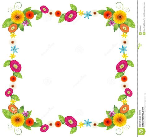 design an invitation to print free a flowery border design stock vector image of margin