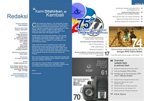 jenis layout majalah ilmuwebsite magz v 2 e zine