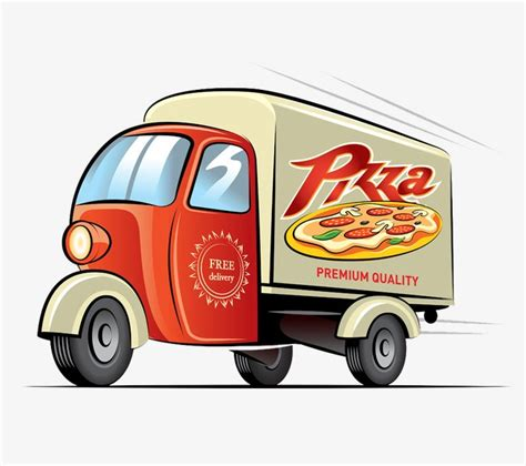 Pizza Auto by Pizza Delivery Car Design Car Clipart Car Delivery